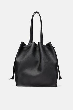 Zara Miękka torba typu shopper