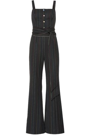 Staud Tao striped jumpsuit