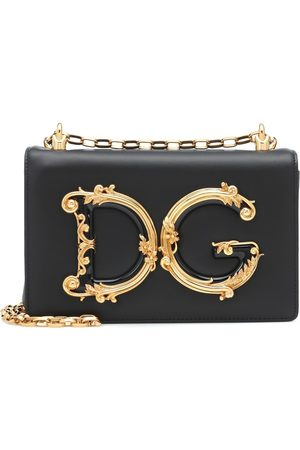 Dolce & Gabbana DG Girls leather shoulder bag
