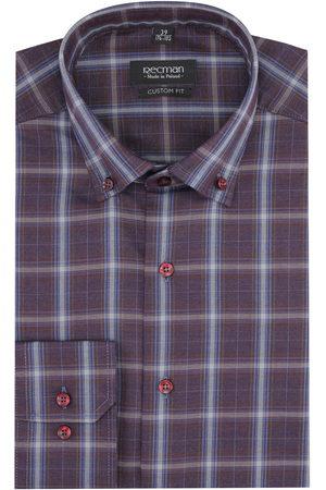 Recman Koszula versone 2860 długi rękaw custom fit fiolet