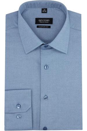 Recman Mężczyzna Z długim rękawem - Koszula versone 2506 długi rękaw custom fit