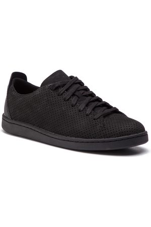 Clarks Sneakersy - Nathan Limit 261416177 Black Nubuck