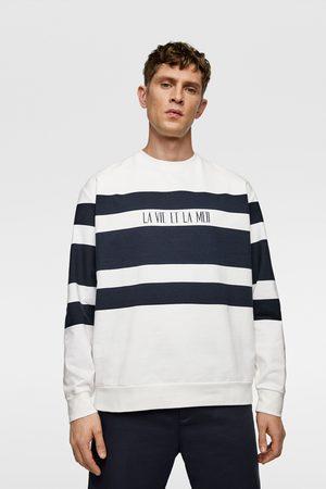 Zara Wielobarwna bluza w paski