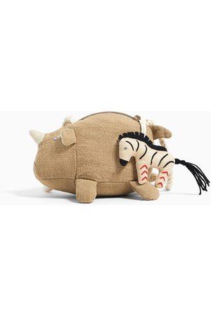Zara Torebka listonoszka w kształcie nosorożca