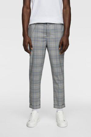 Zara Spodnie o kroju marchewkowym