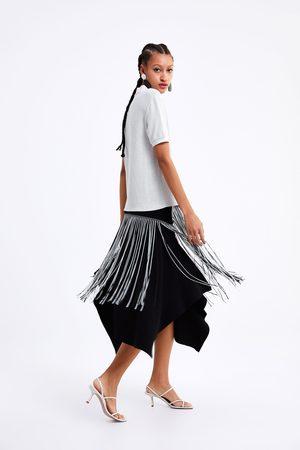 Zara Koszulka polo z przyjemnej w dotyku tkaniny