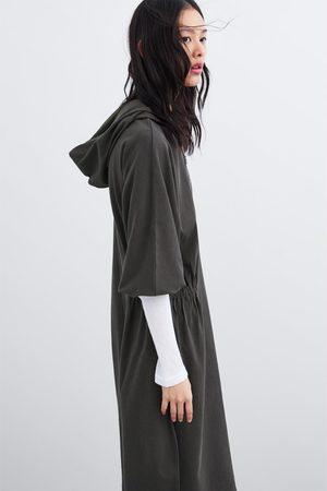 Zara Sukienka z kapturem