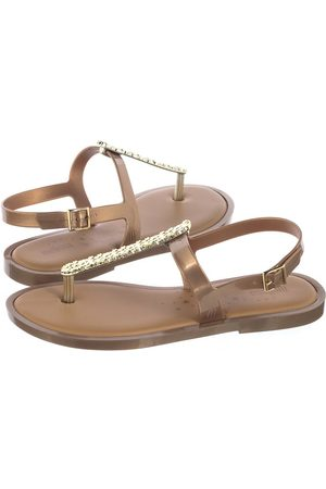 Melissa Slim Sandal II AD 32601/19701 Gold (ML112-a)