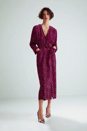 Zara Sukienka w kropki z limitowanej edycji