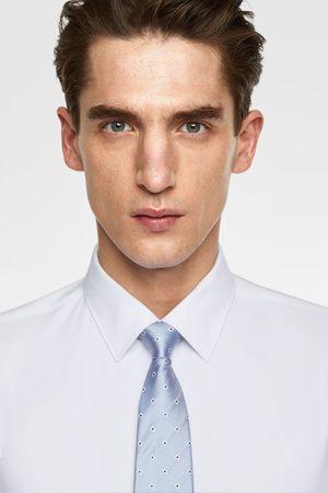 Zara Mężczyzna Krawaty - Szeroki krawat w romby