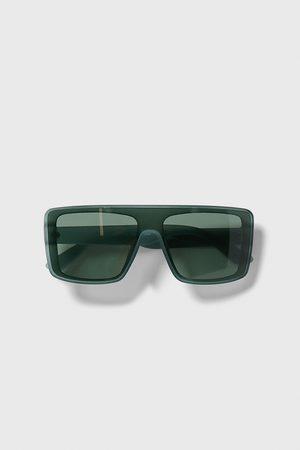 Zara Okulary przeciwsłoneczne oversize