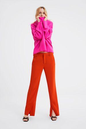 Zara Sweter oversize z przyjemnej w dotyku dzianiny