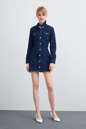 """Zara Sukienka jeansowa """"authentic"""""""