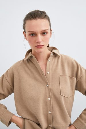 Zara Koszulka z kieszenią