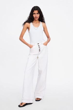 Zara Kobieta Z krótkim rękawem - Koszulka na ramiączkach