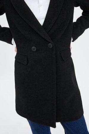 Zara Płaszcz o męskim kroju