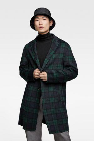 Zara Check coat