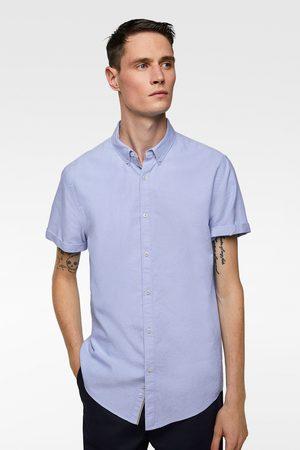 Zara Koszula z krótkim rękawem