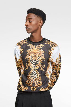 stylu męskie bluzy Zara, porównaj ceny i kup online