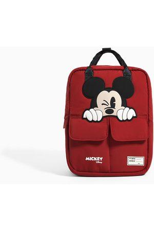 Zara Nylonowy plecak z myszką miki