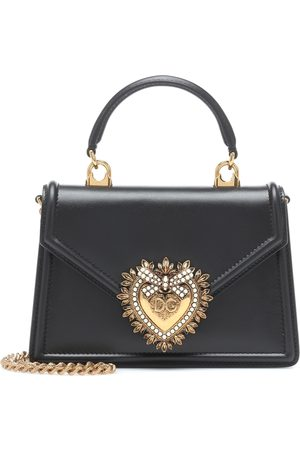Dolce & Gabbana Kobieta Torebki - Devotion Small leather shoulder bag