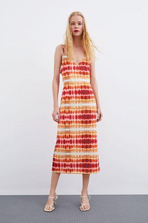 Zara Tie-dye dress