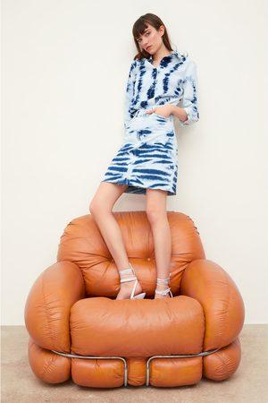 Zara Zw premium tie-dye skirt