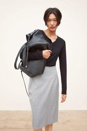 Zara Spódnica o kroju ołówkowym w kratę