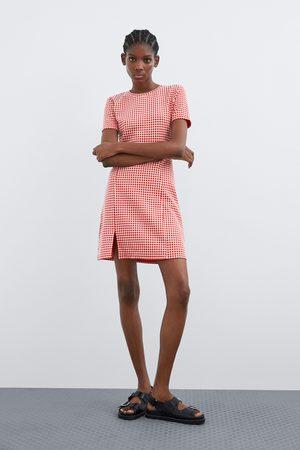 Zara Sukienka w kratę