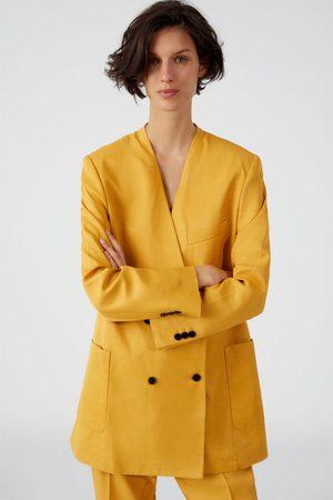 8de20c681779b Żółte Modne żakiety damskie marynarki i Żakiety, porównaj ceny i kup online