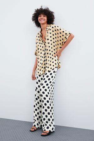 Zara Koszula w stylu piżamowym w kropki