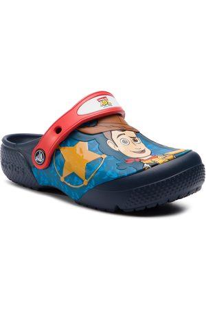 Crocs Klapki - fl Buzz Woody 205493 Navy