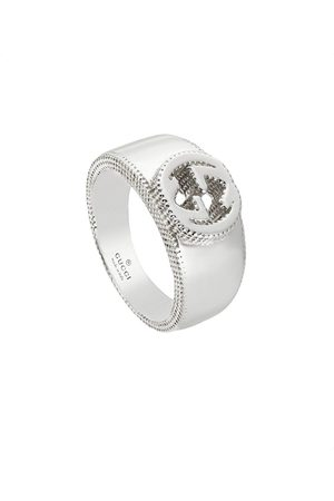 Gucci Kobieta Pierścionki - Interlocking G ring in