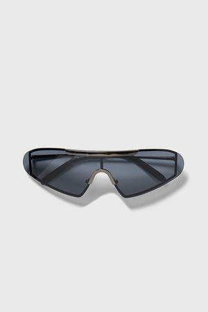 Zara Mężczyzna Okulary przeciwsłoneczne - Sportowe okulary przeciwsłoneczne