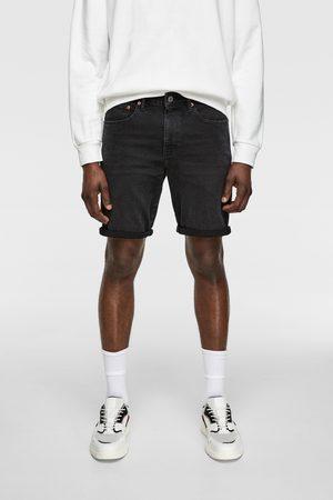 Zara Spodenki jeansowe z kolekcji basic