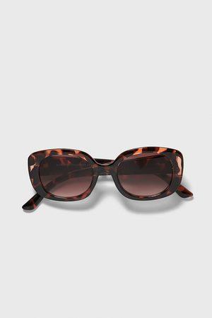 Zara Mężczyzna Okulary przeciwsłoneczne - Okulary przeciwsłoneczne w szylkretowej oprawce