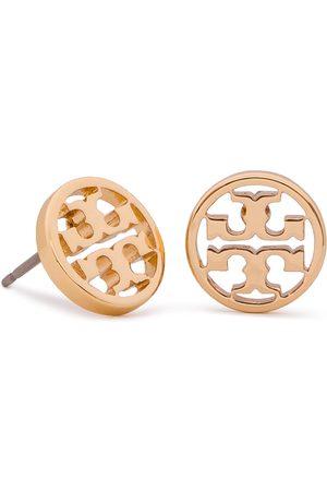 Tory Burch Kolczyki - Logo Circle Stud Earring 11165518 Tory Gold 720