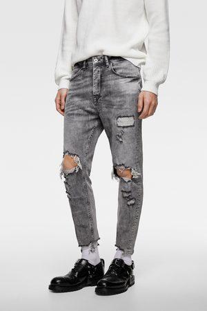 Zara Spodnie jeansowe rurki