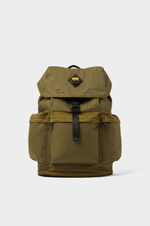 1d93bdb61eaf6 Zara Plecak z wieloma kieszeniami w kolorze