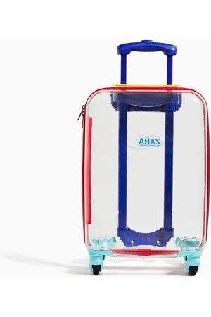 Zara Przezroczysta walizka typu trolley z kolekcji traveler
