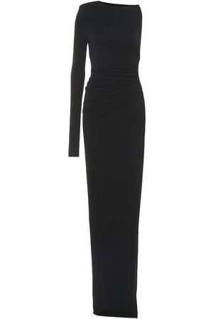 ALEXANDRE VAUTHIER Stretch jersey asymmetric dress
