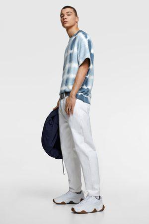Zara Koszula farbowana metodą tie dye