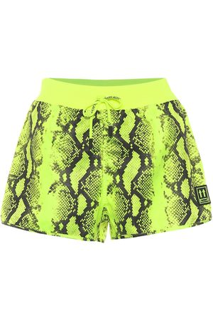 OFF-WHITE Kobieta Szorty - Python-printed running shorts