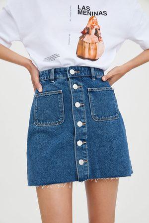 e8d0d84a Spódnica jeansowa mini