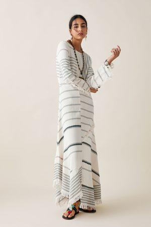Zara Sukienka w paski z limitowanej edycji z kolekcji studio