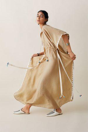 Zara Tunika z haftem z limitowanej edycji z kolekcji studio