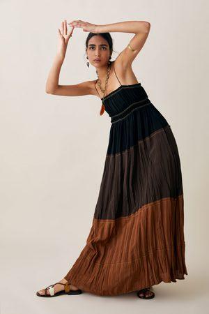 Zara Wielobarwna sukienka z limitowanej edycji z kolekcji studio