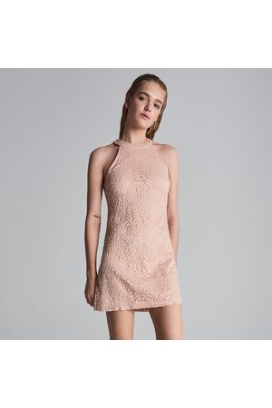 d2ad2ec19d Sukienka skorzana Damskie Sukienki dopasowane