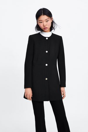 Zara Snap-button frock coat