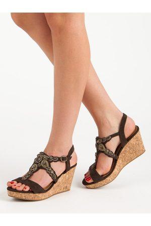 Sandaly 35 Damskie Sandały na koturnie, porównaj ceny i kup